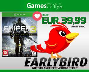 GamesOnly: Sniper: Ghost Warrior 3 + Season Pass (Xbox One) für 43,98€