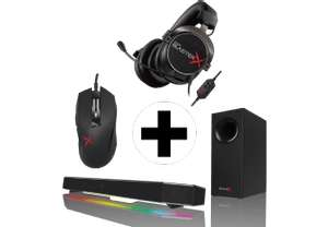 [mediamarkt.at] Creative Katana Soundbar + H5 Headset + M04 Gaming Maus für 289€ - 35% sparen