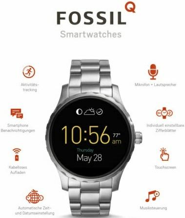 Bestpreis! Fossil Q Marshal Smartwatch