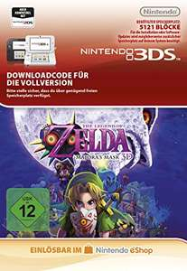 [Amazon.de] Zelda - Majora's Mask 3DS Download Code für 17,98€ - 55% sparen