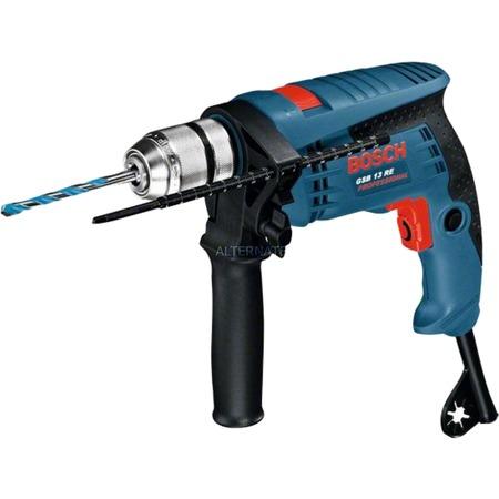 """Bosch Schlagbohrmaschine """"GSB 13 RE Professional"""" (inkl. Handwerkerkoffer, blau): 49,90 € statt 68,42 €"""