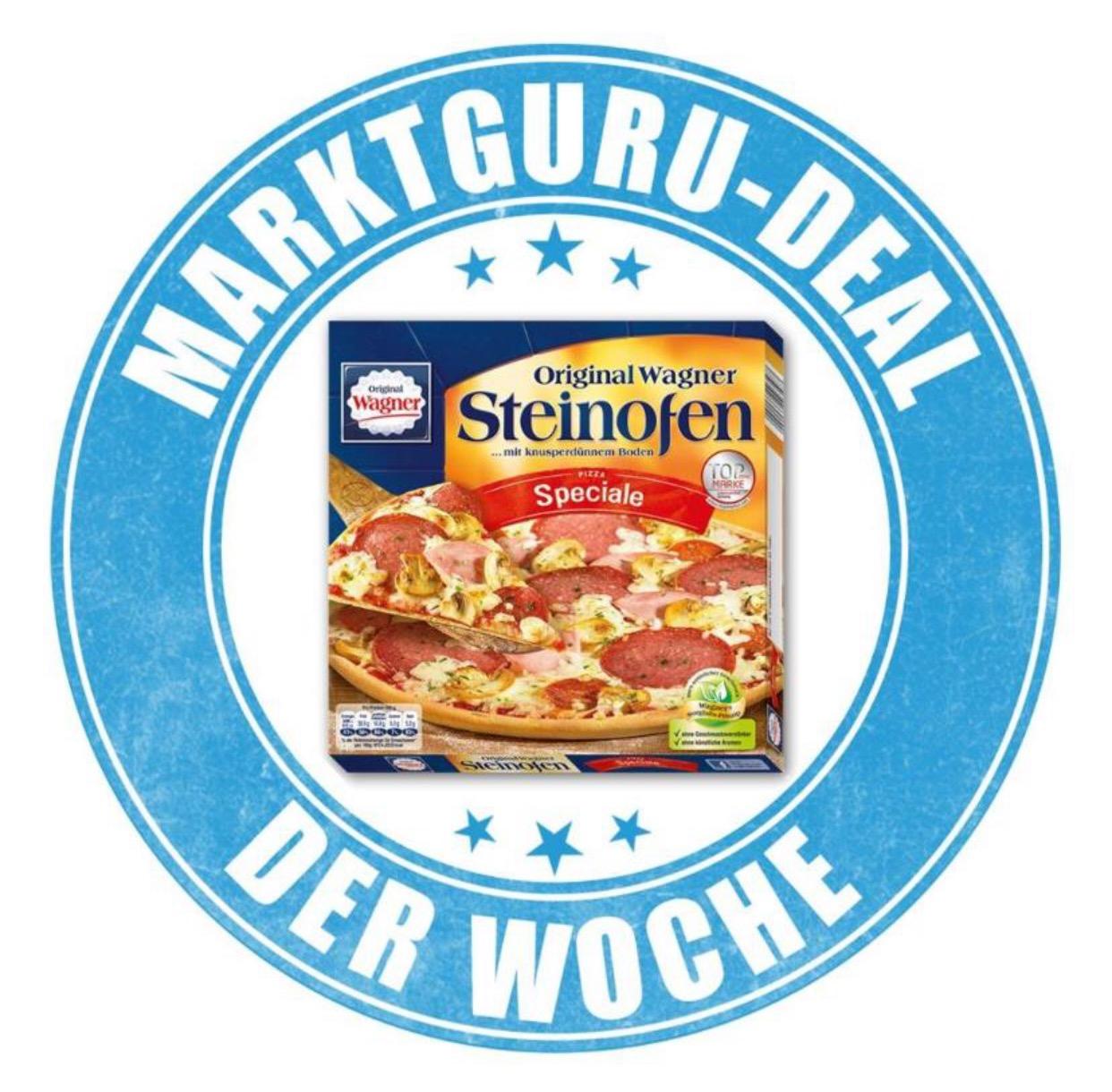 MarktGuru App: Wagner Tiefkühl-Pizza um 1,89 € oder billiger!