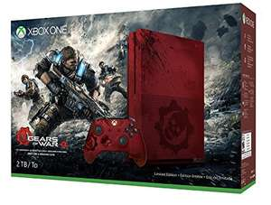 [Amazon.fr] Xbox One S 2TB Konsole - Gears of War 4 Limited Edition Bundle für 364,33€