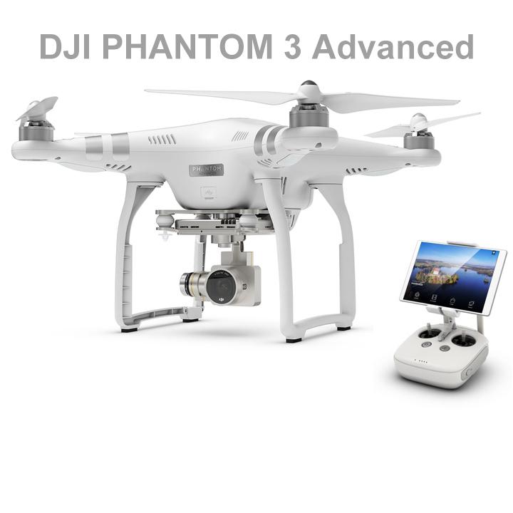 [TomTop] DJI Phantom 3 Advanced Quadrocopter für 563,99€ (statt 720€) – Versand aus Deutschland!
