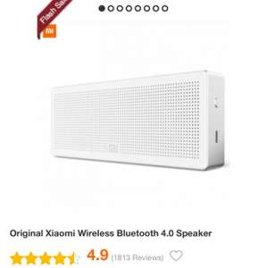 [gearbest.com] XIAOMI Wireless Bluetooth 4.0 Speaker / Satter Sound / Weiss