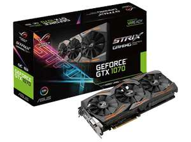 [Mediamarkt] GeForce GTX 1070 + zwei Top-Spiele