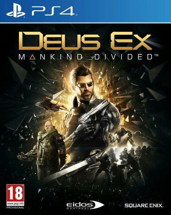Deus Ex Mankind Divided D1 für Ps4 und Xbox