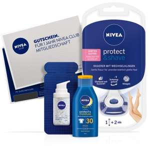 NIVEA Club für 1 Jahr gratis testen! probiermal.at