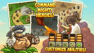 [Google Play Store] Kingdom Rush Frontiers - Tower Defense mit Heroes  um 0,10€ statt 2,19€