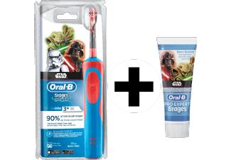 [mediamarkt.at] Oral-B Stages Power Elektrische Kinderzahnbürste inkl. Zahnpasta - Star Wars für 8€