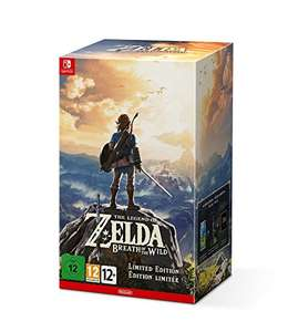 [www.AMAZON.de] 17 Stück noch lagernd -  The Legend of Zelda: Breath of the Wild Limited Edition [Nintendo Switch] Prime Kunden zahlen EUR 98,84