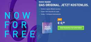 Magix Music Maker (Vollversion) kostenlos + 50€ In-App Guthaben