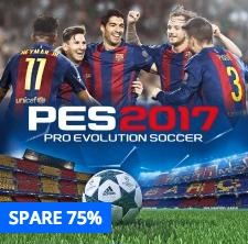 Aktuelle PS4 Angebote im Playstation Store, z.B. Pro Evolution Soccer 2017 für 9,99€ od. Final Fantasy XV für 13,99€
