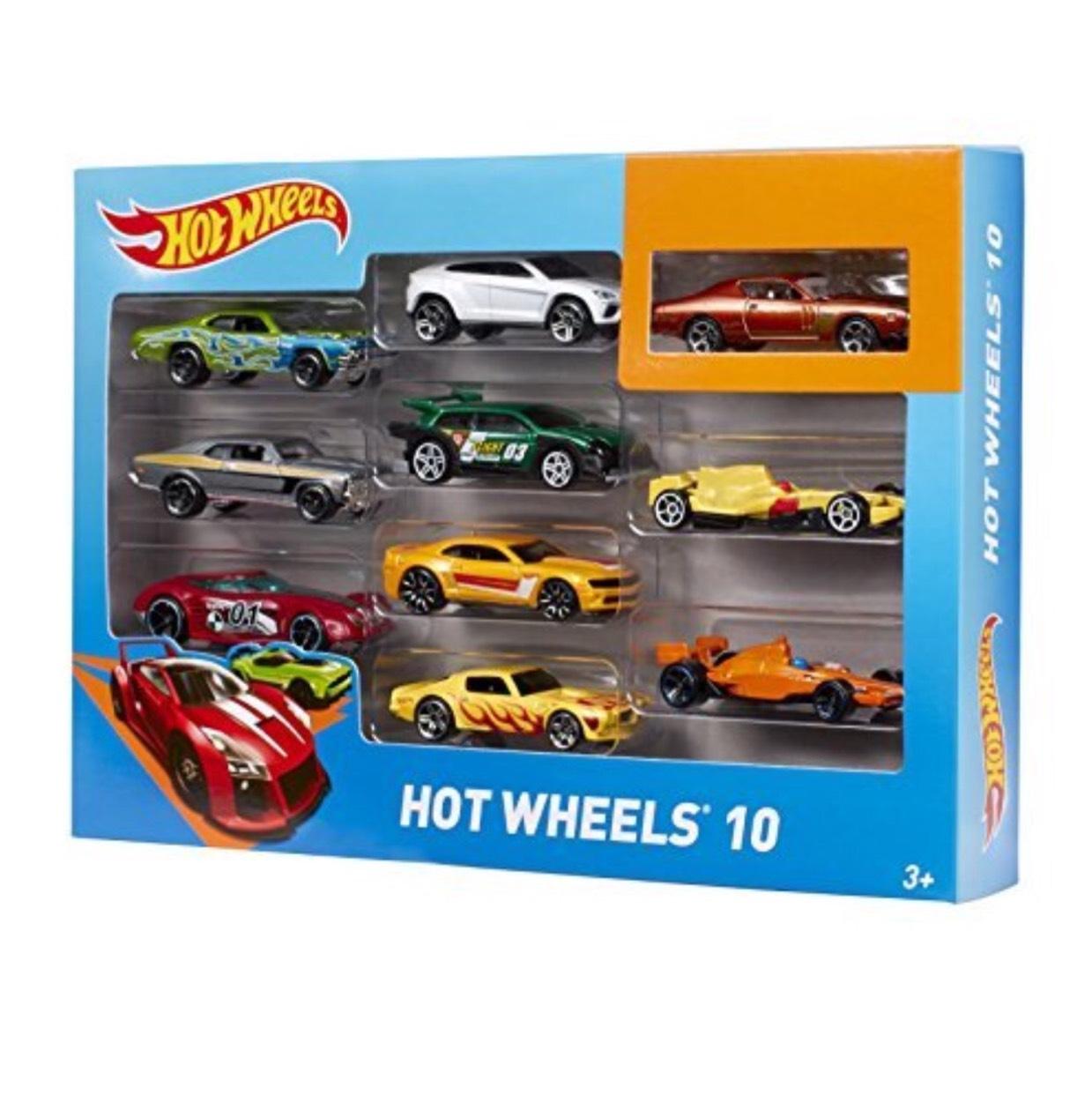 [amazon.de] Hot Wheels Mattel Fahrzeuge 10er Geschenkset