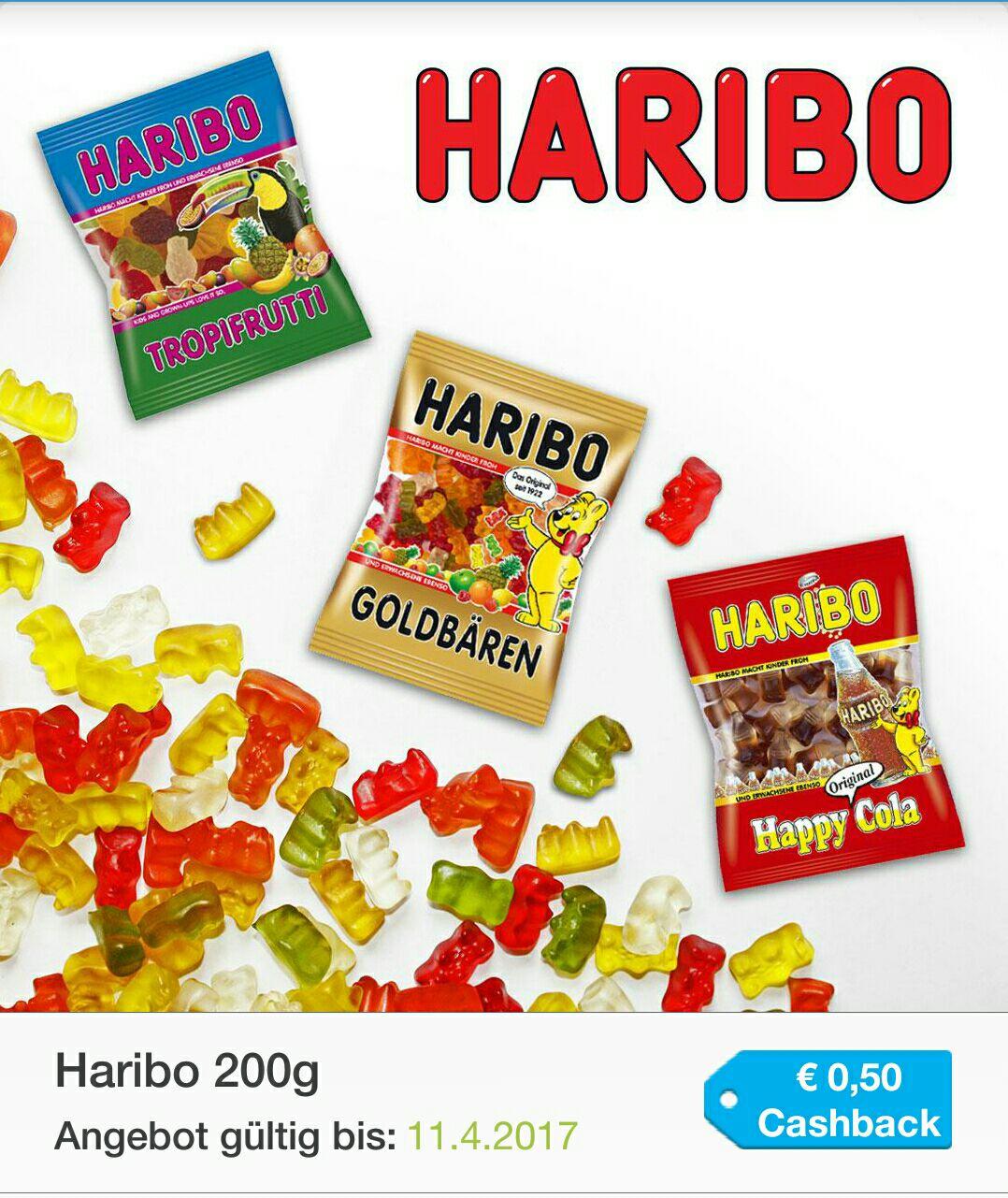 2x200g Haribo um €0.98
