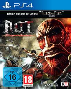 [Amazon.de] AoT ( Attack on Titan) - Wings of Freedom (PS4/ Xbox One) für 17,36€