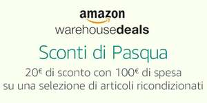 Amazon Italien WHD (Warehouse Deals): 20 € Sofort-Rabatt ab 100 €