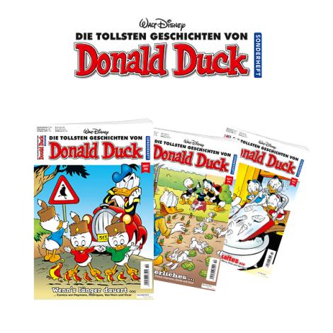 DDSH (Donald Duck Sonderheft) - Probeabo Special für 7,90 + 5 Euro Amazon Gutschein