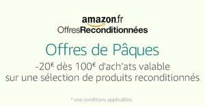 Amazon.fr Warehouse Deals: 20€ Sofort-Rabatt ab 100 €