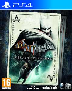 [Media Markt] Batman Return to Arkham um 20€ (PS4/One) [Um 20:00 Uhr]