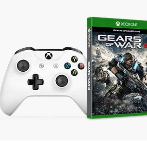 Microsoft Store: Xbox One Controller + Gears of War 4 für 59,99€
