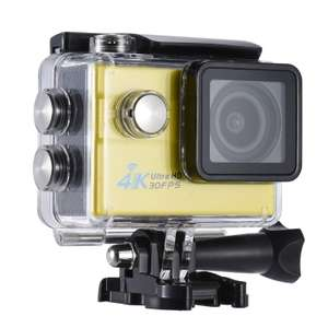 "Actioncam mit 2.0"" LCD- Display, Wifi, Ultra HD 16MP 4K  60FPS mit Zubehör"