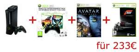 Neues Amazon.co.uk Bundle! XBox Elite 120GB + 2ter Controller + 4 Spiele für 216€