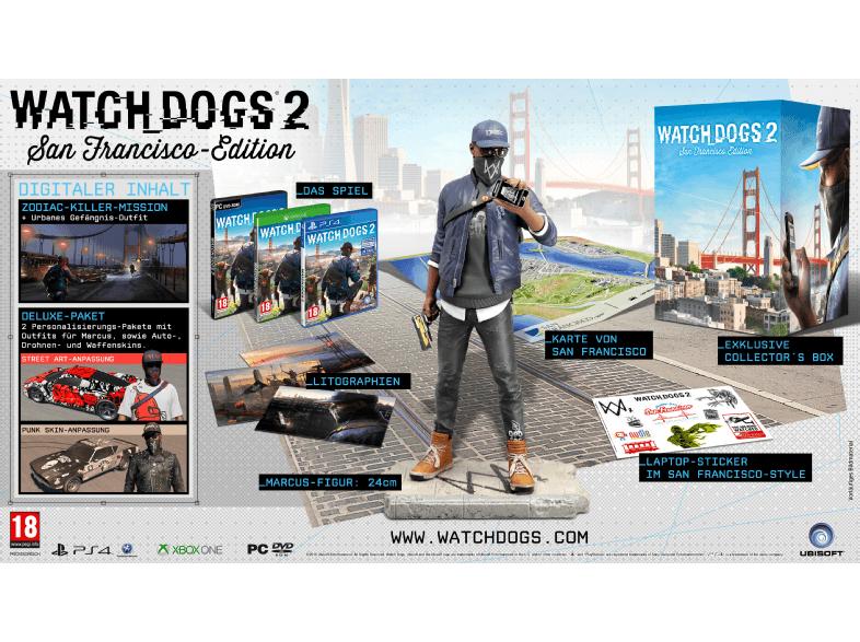 Media Markt: Watch Dogs 2 San Francisco Edition (PS4 / Xbox One / PC) für 37€ ODER Gold Edition für 29€