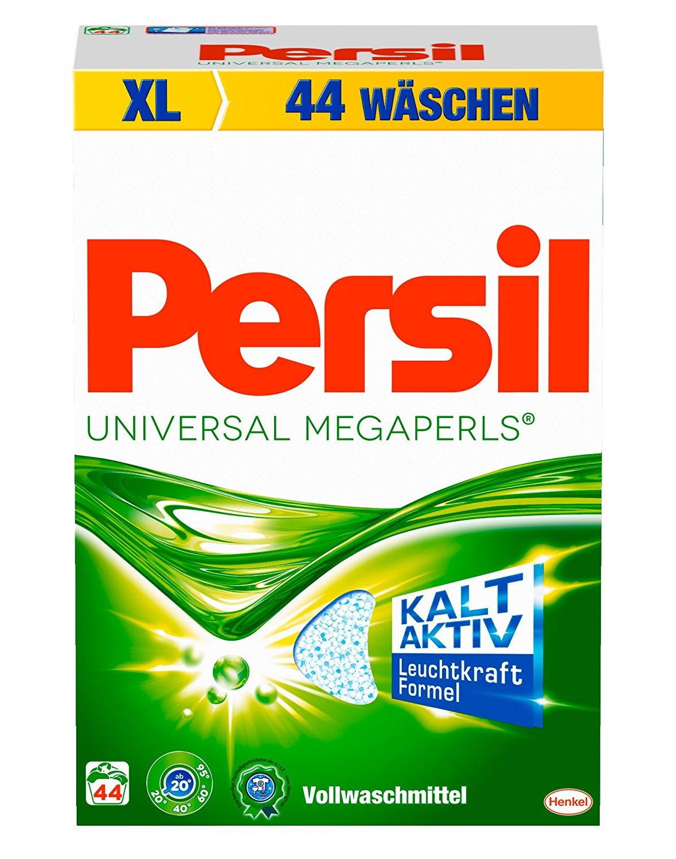 [www.AMAZON.de]  Persil Universal Megaperls, 1er Pack (1 x 44 Waschladungen)  3.25 kg mit Coupon & Spar-Abo für € 7.86 oder  € 9.07 ca 50% Rabatt gegenüber Konkurenz