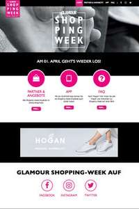 Glamour Shopping Week noch bis 08.04.2017