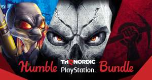 Humble THQ Nordic PlayStation Bundle - bis zu 15 Spiele (US PSN) ab 0,94€