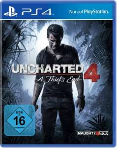 Amazon.de: Uncharted 4: A Thief's End (PS4) für 19,99€