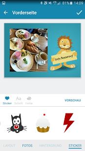 Gratis Postkarte im Wert von 1,99 € mit Postkarten App