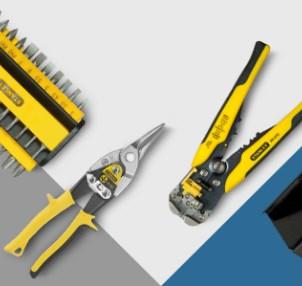 Wieder da: Ausgewähltes Stanley Werkzeug 30% reduziert (mit anderen Werkzeuge!)