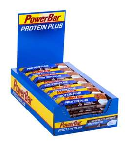 Amazon: PowerBar Protein Plus Low Sugar, Chocolate-Brownie, 1 x 30 Stück (30 x 35g) für 16,61€