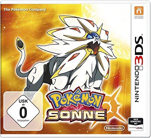 AMAZON:Nintendo 3DS Pokemon Mond und Sonne für je 29,99