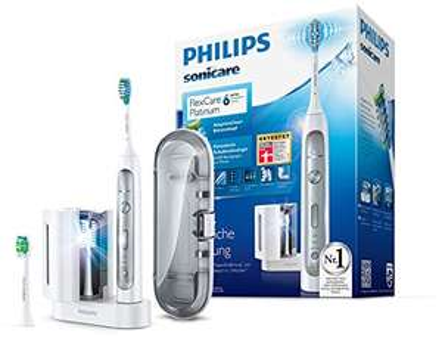 Philips Sonicare FlexCare Platinum mit UV-Reinigungsgerä // + Kauf zusätzlich Mundepflegeset von Philips