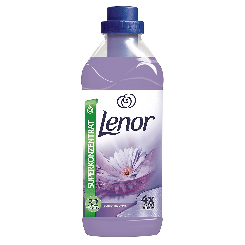 [www.AMAZON.de] Lenor Lavendelphantasie Weichspüler, 800 ml, 12er Pack für € 11,55 entspricht 50% Rabatt gegenüber sationären Handel