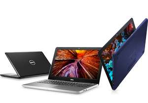 Dell.at: Dell Inspiron 15 5567, 15,6'' FHD Touch matt, i7-7500U, 16GB RAM, 256GB SSD für 779€