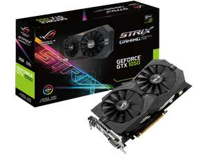 Media Markt: ASUS ROG Strix GeForce GTX 1050, STRIX-GTX1050-2G-GAMING, 2GB GDDR5 für 101€