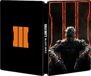Amazon.co.uk: Call of Duty: Black Ops III Steelbook, Xbox One, für 16,28€