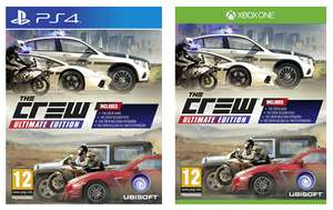 [Game UK]  The Crew Ultimate Edition (PS4/One) für 15,16 EUR inkl. VSK (-50%)
