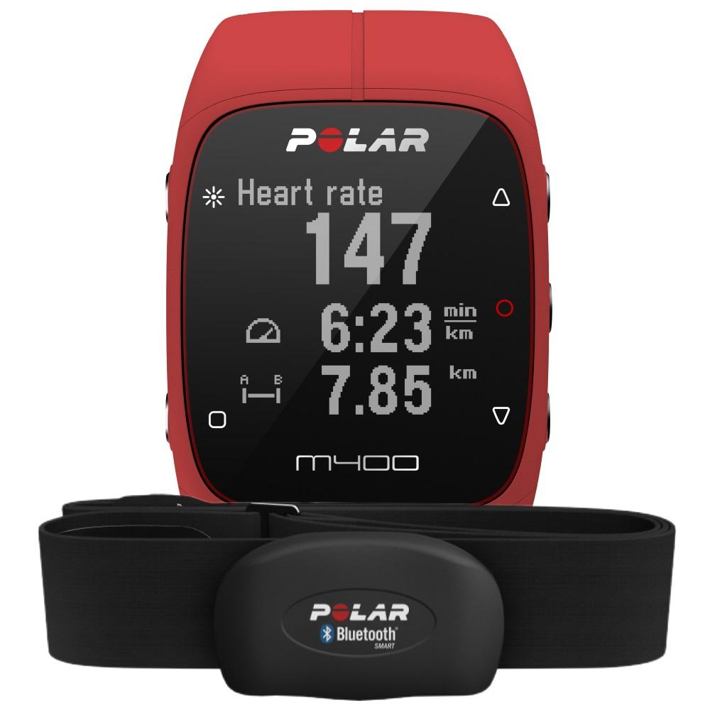 Läufer aufgepasst: Die Polar M400 HR (GPS Laufuhr) in rot um 88€  [Mediamarkt]