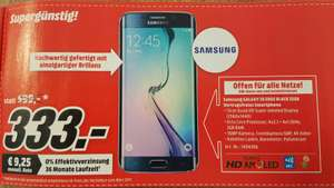[Mediamarkt.at] Samsung Galaxy S6 Edge für €333,-