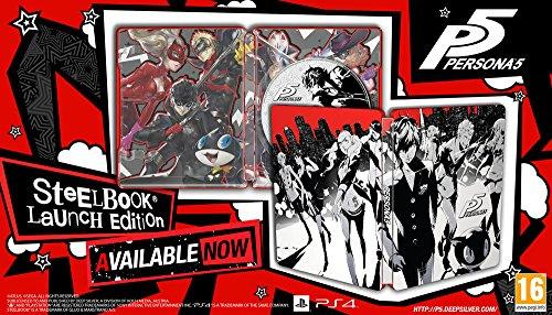 [Amazon.fr] Persona 5 Steelbook Edition für 53,81€ - 17% Ersparnis