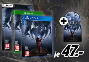 Media Markt: Prey - Day One Edition (PS4 / Xbox One / PC) + Soundtrack für 47€