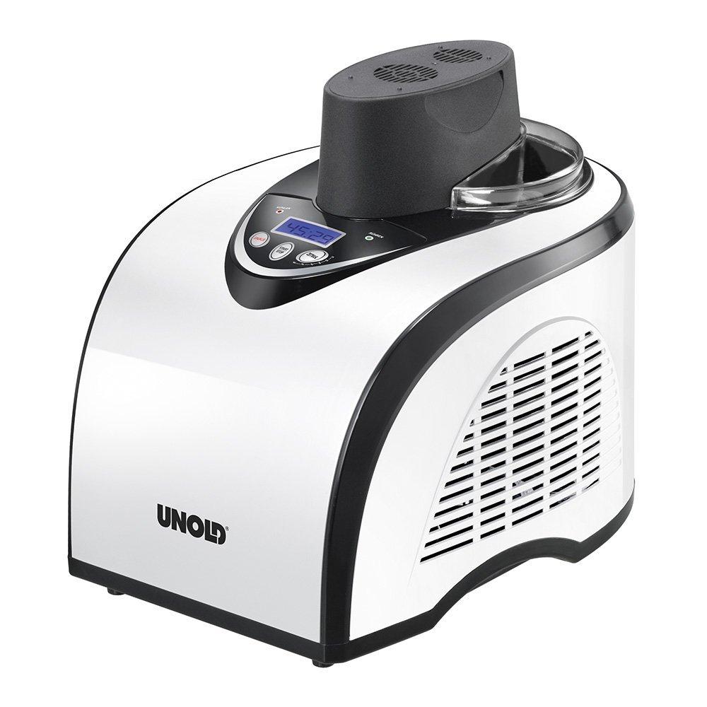 [www.AMAZON.de] UNOLD Eismaschine Polar, mit Kompressor, 1 Liter Eiscreme, 48840 für € 111,93