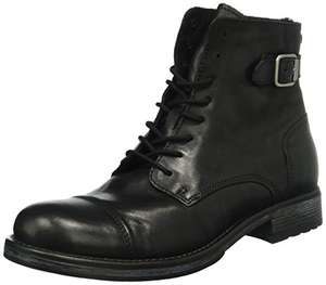 Amazon - JACK & JONES Herren Jfwsiti Leather Boot Combat Gr. 45