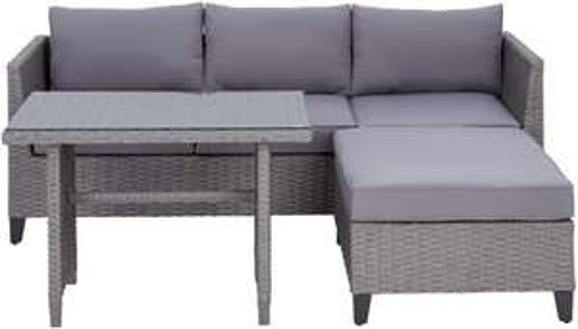 XXXLutz Online Shop: Loungegarnitur von Ambia Garden um nur € 299 (exklusive € 34,90 Versandkosten)