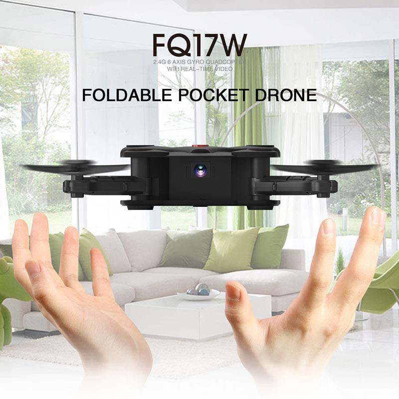 Faltbarer Quadrocopter mit Wifi für Bildübertragung/Stream auf Smartphone und Steuerung über Smartphone